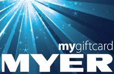 Alexys lucky draw - myer gift card